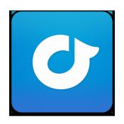 App Icon: Rdio Variiert je nach Gerät