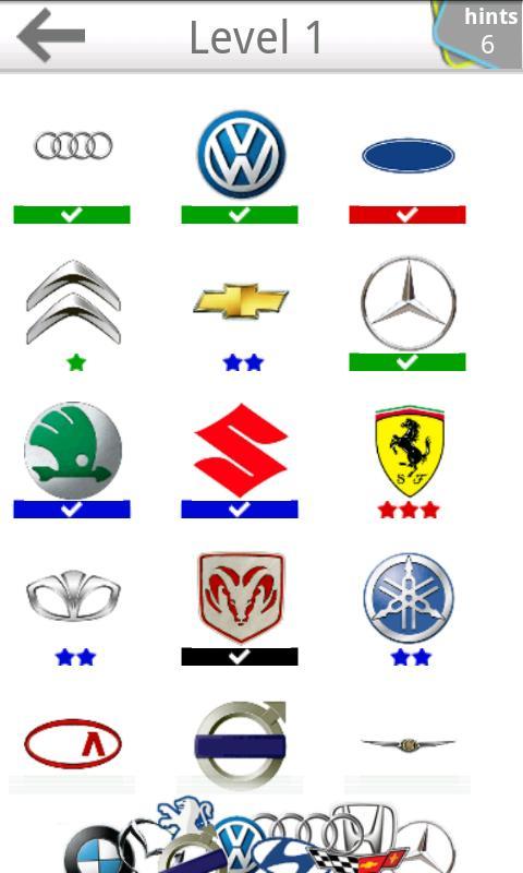 Automarken Logo Quiz
