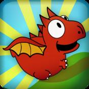 App Icon: Dragon, Fly! Free Variiert je nach Gerät