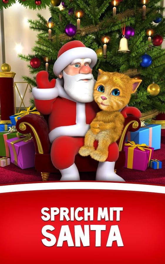 Screenshot von Sprechender Santa und Ginger - Android App