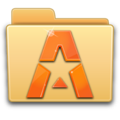 App Icon: ASTRO File Manager with Clouds Variiert je nach Gerät
