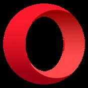 App Icon: Opera-Browser Variiert je nach Gerät