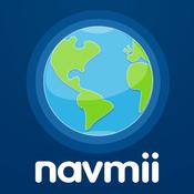 App Icon: Navmii GPS Großbritannien & Irland: Navigation, Karten und Verkehr (Navfree GPS) 3.5.2