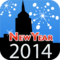 New Year Countdown 2014 by timeanddate.com