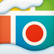 App Icon: Pic Collage - the free, fun and fast app for photo and video editing in a snap. Merry Christmas 5.8.22