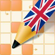 App Icon: Englisch lernen mit Kreuzworträtseln 3.1