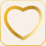 App Icon: Hochzeitsplaner - purpurweiss.com 1.3