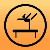 App Icon: Gymnastics Code of Points Timer 2.1.1