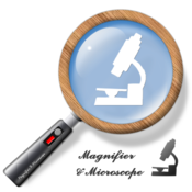 App Icon: Lupe & Mikroskop