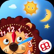 App Icon: Uhr Lesen Lernen