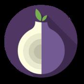 App Icon: Orbot: Vermittlung mit Tor