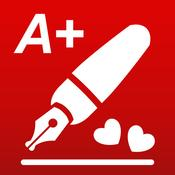 App Icon: A+ Signature - The photo annotator 4.3
