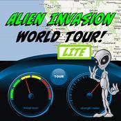 App Icon: Alien Invasion - World Tour! LITE 2.0