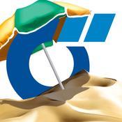 App Icon: Strandbad Guide (powered by Das Örtliche) - Freibäder, Strandbäder und Badestellen für den Sommer entdecken 2.0