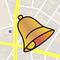 MapAlarm - GPS-Erinnerungen, OpenStreetMap, Orte speichern, Position verschicken