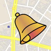 App Icon: MapAlarm - GPS-Erinnerungen, OpenStreetMap, Orte speichern, Position verschicken 2.4