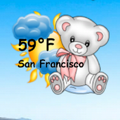 App Icon: Teddy Bear Weather Widget