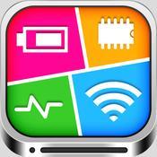 App Icon: System Status Monitor Pro - Batterie, Netzwerk & Memory Manager 2.0