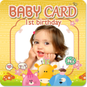 App Icon: Baby birthday Invitation Cards