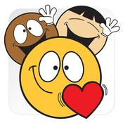 App Icon: Emojidom Smilies und Emoticons kostenlos für WhatsApp und Nachrichten 4.1