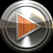 App Icon: Metall Holz Poweramp Haut