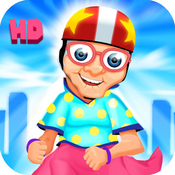 App Icon: A Harlem Shake Granny Run FREE HD - Endless Multiplayer Runner Race Game 2.0