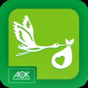 App Icon: AOK Schwanger