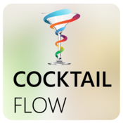 App Icon: Cocktail Flow