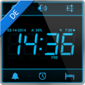 App Icon: Wecker Digital (Alarm) Free