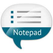 App Icon: Notizblock Spracheingabe Lite