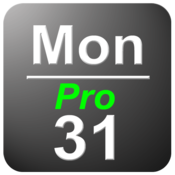 App Icon: Datum in der Statusleiste Pro