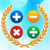 App Icon: Mathe Meister - rechnen Spiele für Kinder und Erwachsene (Vollversion) 2.9