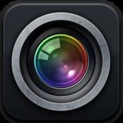 App Icon: Diaphragm-Kamera und Objektive