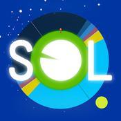 App Icon: Sol: Sun Clock — sunrise, sunset, and golden hours. Solar alarm clock. 3.1.0