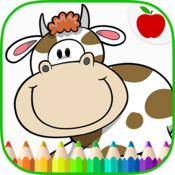 App Icon: Farm Animals Coloring Book