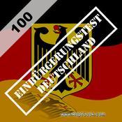 App Icon: Einbürgerungstest Deutschland 100 2.0.1
