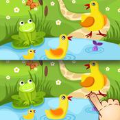App Icon: Finde die Unterschiede - Bauernhof-Tiere für Kinder und Kleinkinder 5.0.1