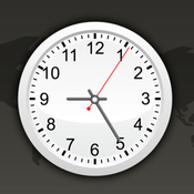 App Icon: World Clock HD for iPad and iPhone 2.8