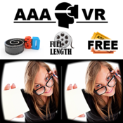 App Icon: AAA VR Cinema Cardboard 3D SBS