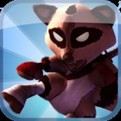 App Icon: Raccoon Rising