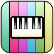 App Icon: 72 Keys Piano