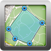 App Icon: Geo Measure GPS Area Distance