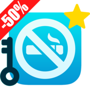 App Icon: Qwit Pro LICENSE, Stop Smoking