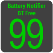 App Icon: Battery Notifier BT Free