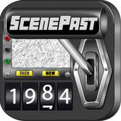App Icon: ScenePast: Movie & TV Location Time Travel 2.0