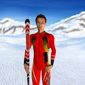 App Icon: Schnee-Fitness-Training - Ski- und Snowboard-Übungen 4.0.3