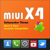 App Icon: MIUI X4 Go/Apex/ADW Theme PRO