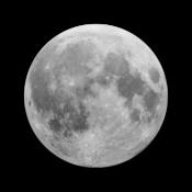 App Icon: Moon 3D