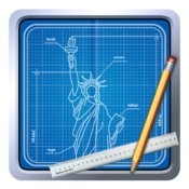 App Icon: Blueprint 3D