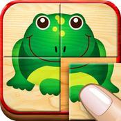 App Icon: Activity Puzzle - Spiele für Kinder ab 4 (von Happy-Touch Kinderspiele) 1.0